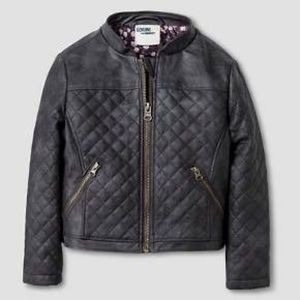Genuine by Oshkosh Quilted Faux Leather Jacket